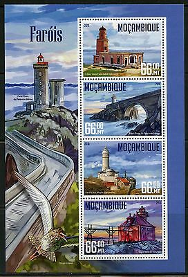 Mozambique  2016 Lighthouses Sheet Mint Never Hinged