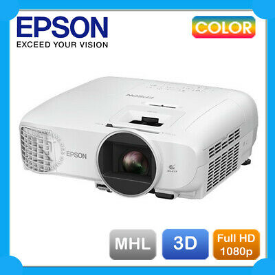 Epson EH-TW5300 Full HD 1080P 3D Home Theatre Projector w/2xHDMI+2 Year Warranty