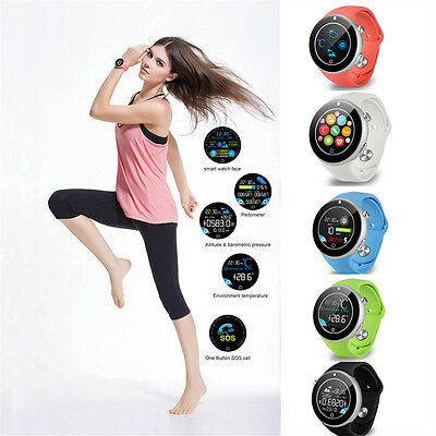 "Aiwatch C5 1.22"" Sports Smart Wrist Watch Phone Bluetooth Remote for Android iOS"
