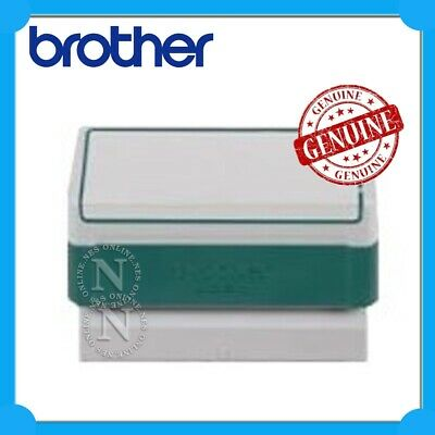 Brother Genuine PR-4090G6P GREEN 40x90mm (Pack of 6) w/ 8x ID Labels Ink Stamps