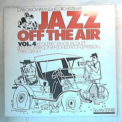 37145 Lp 33 giri 12 '' - Cab Calloway And His Orchestra - Jazz Off The Air Vol.