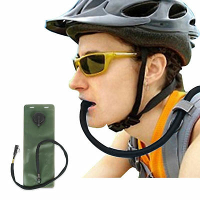 3L Water Bladder TPU Bicycle Hydration System Bag for Camping Fishing Cycling US