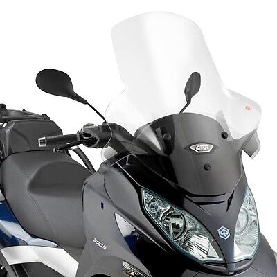 Windschild Piaggio MP3 Touring 400/ LT 2011 Givi transparent Scheibe