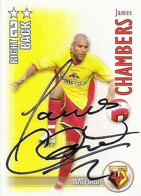 A Shoot Out card Marlon King at Watford. Personally signed by him 2006-2007.