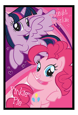 Framed My Little Pony Twilight Sparkle And Pinkie Pie Poster New