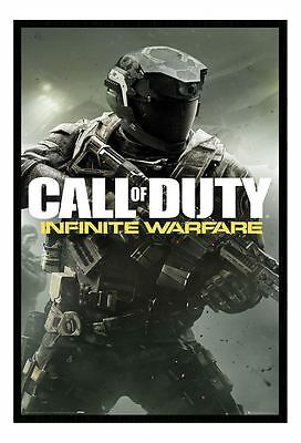Call Of Duty Infinite Warfare Cover Magnetic Notice Board Includes Magnets
