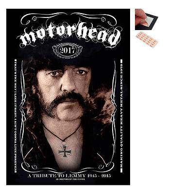 Calendar - Motorhead A Tribute To Lemmy 2017 Wall Calendar - Large Size