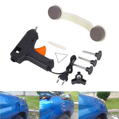 Car Vehicle ABS Plastic Dent Repair Remover Tool Kit Paint Care Cleaner