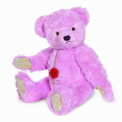 Teddy Hermann Pink Hyacinth Bear with Swarovski Elements+Growler, 123262