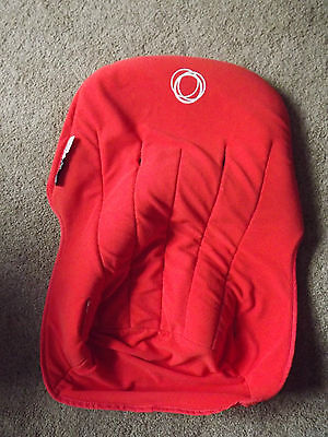 Bugaboo Cameleon Seat Cover/Liner  in Orange Fleece Fabric