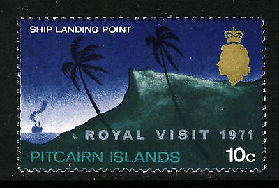 PITCAIRN ISLANDS 1971 Royal Visit Issue SG 115 MNH