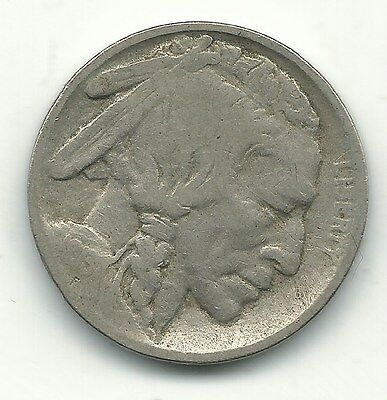 Nice Vintage 1913 S Type 1 Buffalo Nickel Coin-Minting Error E,c And S Mint-Sep9