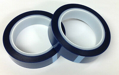 5 MIX BLUE FLASH POWDER COATING BONDING BAGGING MASKING TAPE 72 YDS