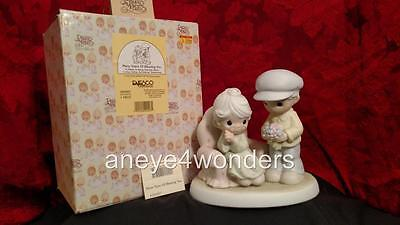 Precious Moments #384887 'MANY YEARS OF BLESSING YOU' Ltd Ed., Old Couple, MIBWT