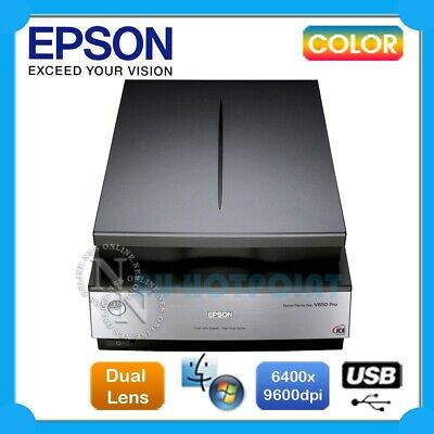 Epson Perfection V850 Pro A4 Flatbed Color Photo USB Scanner PC/MAC Top of Range