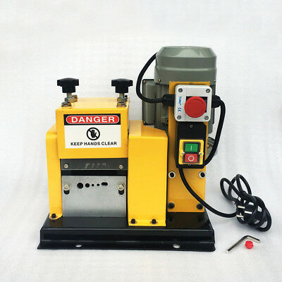 WOO 220V Automatic Recycle Wire Scrap Cables Stripper Copper Stripping Machine