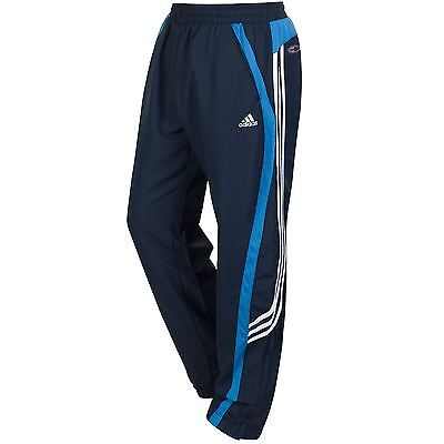 Adidas Essentials Navy Gryphon Track Pants Bottoms Trackies Climacool Sports