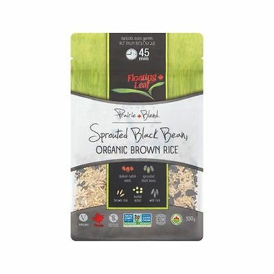 Floating Leaf Sprouted Black Beans Organic Wild Rice 350g