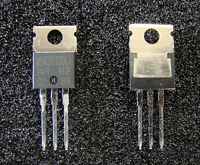 Vishay IRF 2x10A/100V Schottky Barrier Diode MBR20100CT, TO-220, Qty.5