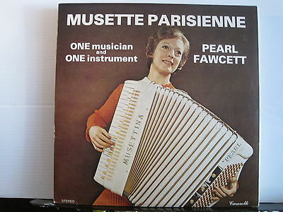 Pearl Fawcett - Musette Parisienne - Vinyl Lp - Free UK Post