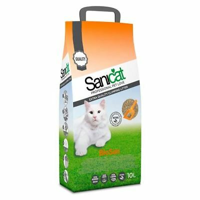 Sanicat Biosan Clumping Cat Litter 10L