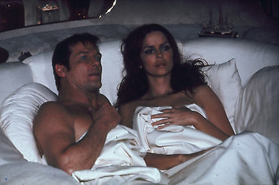 """Roger Moore Barbara Bach James Bond The Spy Who Loved Me 8x10"""" Photo #C169"""