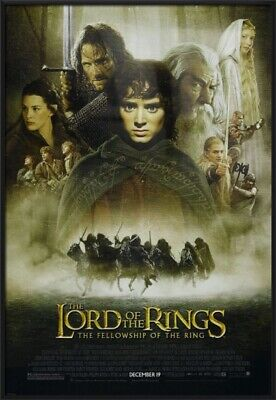 The Lord Of The Rings - Fellowship Of The Ring - Framed Movie Poster (Regular)