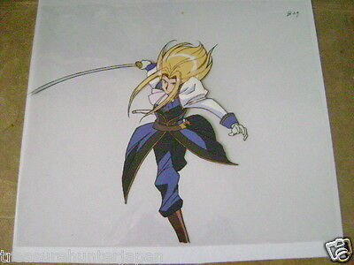 The Vision Of Escaflowne Allen Schezar Anime Production Cel 11