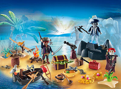 "Playmobil - Adventskalender ""Geheiminsvolle Piratenschatzinsel"", 6625"