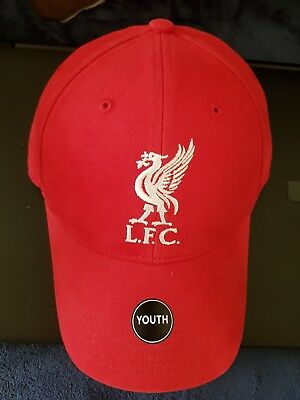Official Liverpool FC Bird Black Baseball Cap - Brand 47 - New For 16/ 17 Season