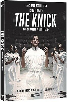 Knick: The Complete First Season - 4 DISC SET (2015, DVD New)