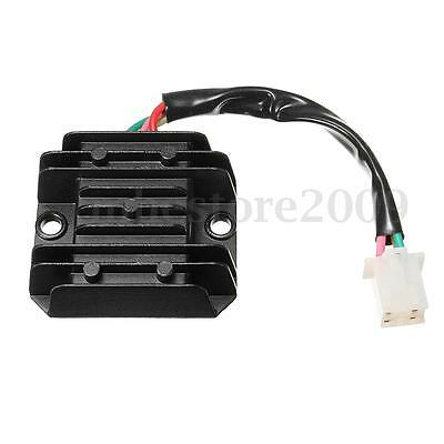 Universal 12V 4 Wires Regulator Rectifier For Motorcycle ATV Dirt Quad Scooter