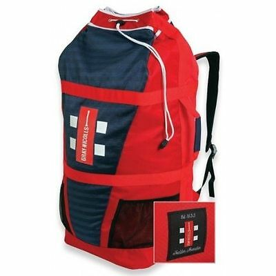 2017 Gray Nicolls Atomic Red White Blue Duffle Cricket Bag