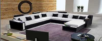 wohnlandschaft matera xxl u form ecksofa design couch beleuchtung sofa eur picclick de. Black Bedroom Furniture Sets. Home Design Ideas