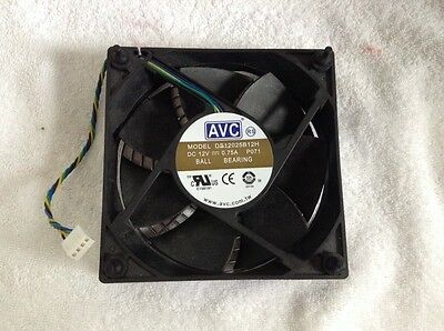 AVC DS12025B12E 120mm x 25mm Ball Bearing Cooler Cooling Fan 12V 0.20A 4Pin B152