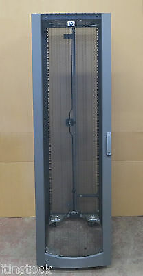 HP 10642 42U Server Rack Cabinet Enclosure With Front + Rear Doors 245169-001