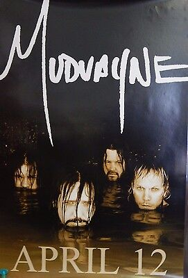 Mudvayne Original CD Promo Lost And Found Poster 24x36 Rock Single Sided Rare