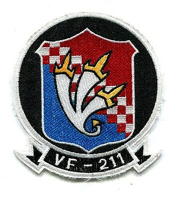 Us Navy VF-211 Fighting Checkmates Military Patch