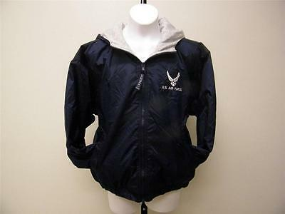 New United States Air Force Youth sizes S-M-L Hooded Jacket by Oarsman 913
