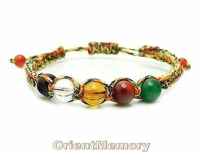 Five Element Color Feng Shui Bracelet - For Harmony & Good Luck
