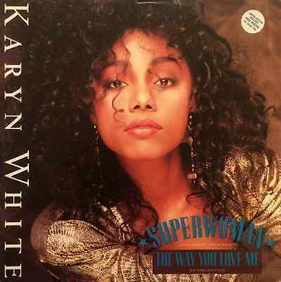 "KARYN WHITE - Superwoman (12"") (VG/VG)"