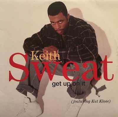 "KEITH SWEAT - Get Up On It (ft Kut Klose) (12"") (EX/VG)"