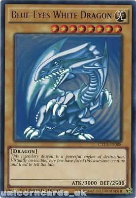 CT13-EN008 Blue-Eyes White Dragon Ultra Rare Limited Edition Mint YuGiOh Card