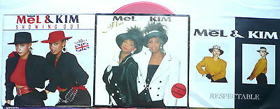 "MEL & KIM - 3 Singles 7""   Showing out; Flm; Respectable"