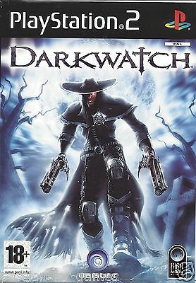 DARKWATCH for Playstation 2 PS2 - with box & manual - PAL