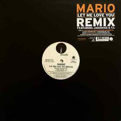 "MARIO - Let Me Love You (Remix) (12"") (EX-/VG-)"
