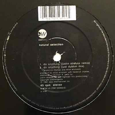 "NATURAL SELECTION - Do Anything (12"") (VG+/NM)"