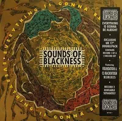 "SOUNDS OF BLACKNESS - Everything Is Gonna Be Alright (12"") (VG/VG+)"