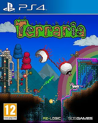 NEW & SEALED! Terraria Sony Playstation PS4 Game UK