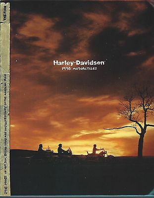 Motorcycle Brochure - Harley-Davidson - Product Line Overview - 1998  (DC439)